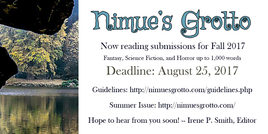 Ad for Fall Submissions to Nimue's Grotto